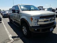 2017 Ford F-250SD King Ranch White Gold Metallic 4WD