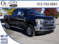 2017 Ford F-350SD Lariat Shadow Black 4WD NO ACCIDENTS,