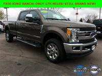 New Price! Brown 2017 Ford F-350SD King Ranch 4WD