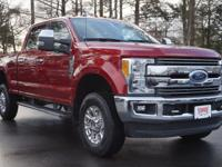 Race Red 2017 Ford F-350SD Lariat 4WD TorqShift 6-Speed
