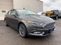 Check out this 2017 Ford Fusion SE in Gray with Ebony