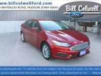 Ruby Red Metallic Tinted Clearcoat 2017 Ford Fusion SE