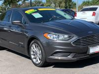 CARFAX One-Owner. Clean CARFAX. Gray 2017 Ford Fusion