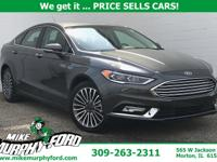 2017 Ford Magnetic Fusion SE FWD 6-Speed Automatic