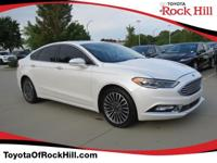 We are excited to offer this 2017 Ford Fusion. This