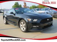 We are excited to offer this 2017 Ford Mustang. CARFAX