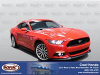 Reward yourself with our 2017 Ford Mustang GT Fastback