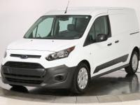 New Price! Frozen White 2017 Ford Transit Connect XL