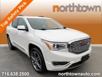 Recent Arrival White Frost 2017 GMC Acadia Denali AWD