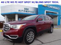 Crimson Red Tintcoat 2017 GMC Acadia SLE-2 FWD 6-Speed
