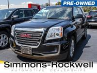 Boasts 28 Highway MPG and 20 City MPG! This GMC Terrain