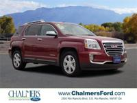 2017 GMC Terrain SLT Crimson Red CARFAX One-Owner.
