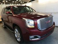 CARFAX One-Owner. Crimson Red Tintcoat 2017 GMC Yukon