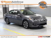2017 Honda Accord EX-L FWD in Modern Steel Metallic.
