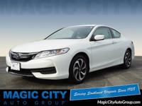 This White 2017 Honda Accord LX-S might be just the