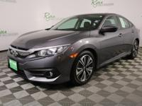 Recent Arrival! 2017 Honda Civic EX-L Gray Civic EX-L,