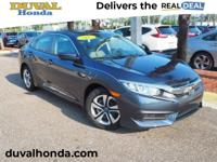 Recent Arrival! This 2017 Honda Civic LX in Cosmic Blue