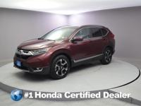 2017 Honda CR-V Touring CARFAX One-Owner. Priced below