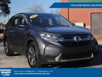Check out this 2017 Honda CR-V LX. Its Variable