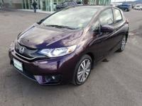 2017 Honda Fit EX Passion Berry Pearl FWD 1.5L I4