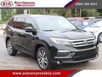 - - - 2017 Honda Pilot Elite AWD - - -  4 Wheel Disc