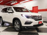 This outstanding example of a 2017 Honda Pilot EX-L is