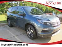 We are excited to offer this 2017 Honda Pilot. This
