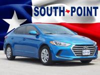 2017 Hyundai Elantra Value Edition CARFAX One-Owner.