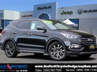 FRESH UNIT... Twilight Black 2017 Hyundai Santa Fe
