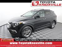 Twilight Black 2017 Hyundai Santa Fe Sport 2.4 Base AWD