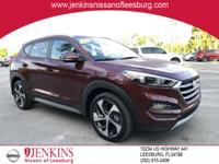 Certified. Ruby 2017 Hyundai Tucson Sport FWD 7-Speed