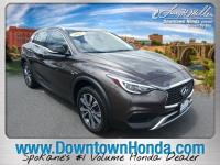 Chestnut 2017 INFINITI QX30 Luxury AWD 7-Speed