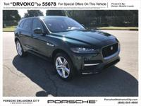 **Porsche Oklahoma City**, Leather, F-PACE 35t R-Sport,