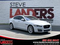 CARFAX One-Owner. Clean CARFAX. White 2017 Jaguar XE