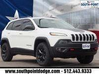 2017 Jeep Cherokee Trailhawk Recent Arrival! Clean