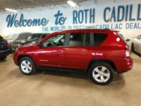 Red 2017 Jeep Compass Latitude 4WD 6-Speed Automatic
