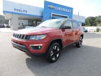 Red Line 2017 Jeep New Compass Trailhawk 4WD 9-Speed