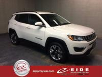 2017 Jeep New Compass 4D Sport Utility Limited***White