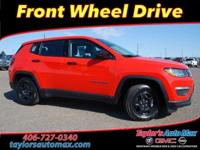 LOCAL TRADE IN, New Compass Sport, 4D Sport Utility,