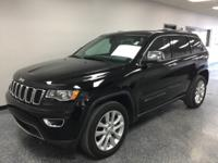 Black 2017 Jeep Grand Cherokee Limited 4WD 8-Speed