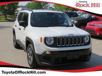 We are excited to offer this 2017 Jeep Renegade. Drive