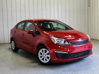 CARFAX One-Owner. 2017 Kia Rio LX Signal Red Clean