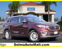 CARFAX One-Owner. Clean CARFAX. Remington Red 2017 Kia
