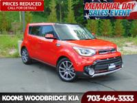 2017 Kia Soul Exclaim Inferno Red Recent Arrival!
