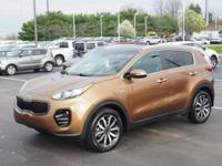 Copper 2017 Kia Sportage EX AWD 6-Speed Automatic 2.4L