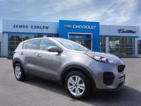 CARFAX One-Owner. Clean CARFAX. Mineral Silver 2017 Kia