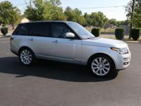 2017 LAND ROVER RANGE ROVER V8 5.0 SUPERCHARGED W/NAV 4