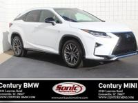 * One Owner * Clean Carfax * This 2017 Lexus RX 350 F