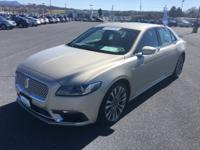 REDUCED!! This 2017 Lincoln Continental Reserve