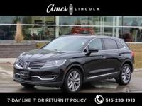Check out our 2017 Lincoln MKX Reserve AWD featured in
